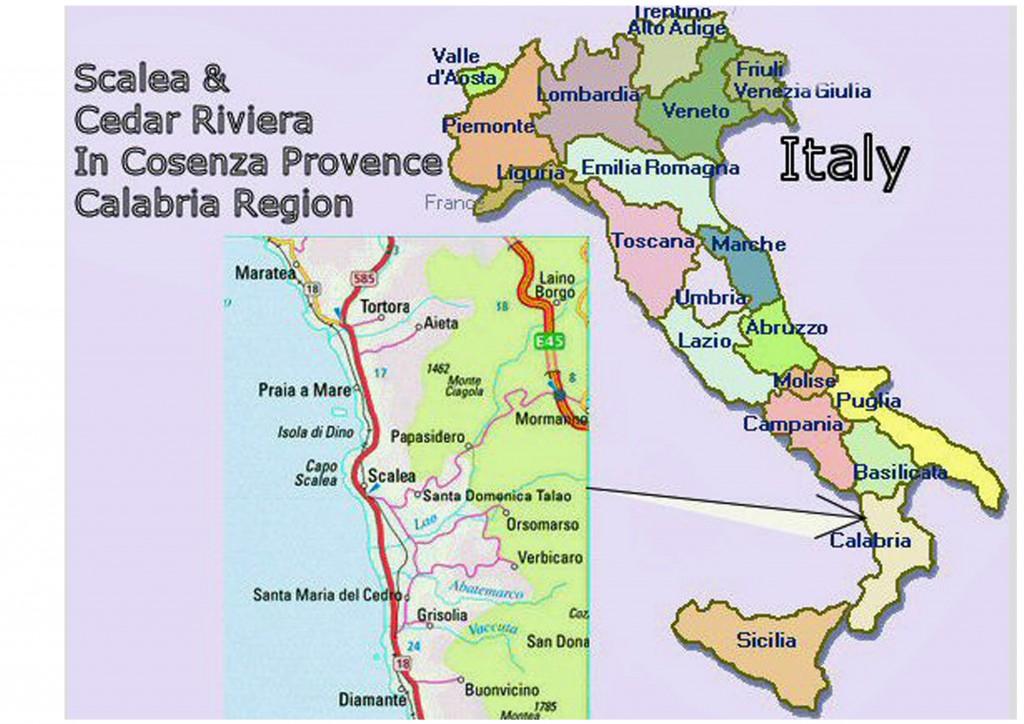 kart over italia Kart Italia Kart